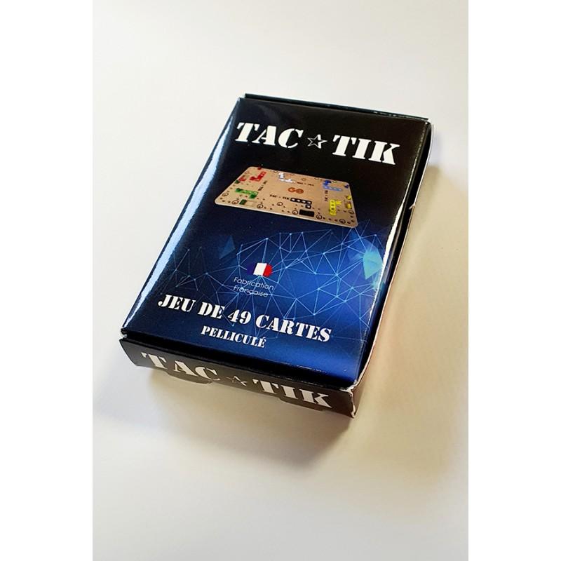 Jeu carte TAC-TIK Pelliculé - GO49 - Chemillé en Anjou 49120 - longue vie