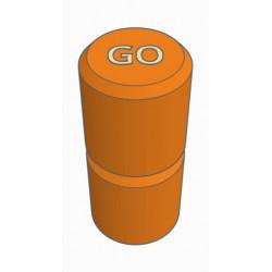 Pions Orange pour jeux TACTIK - GO49 - Chemillé en Anjou