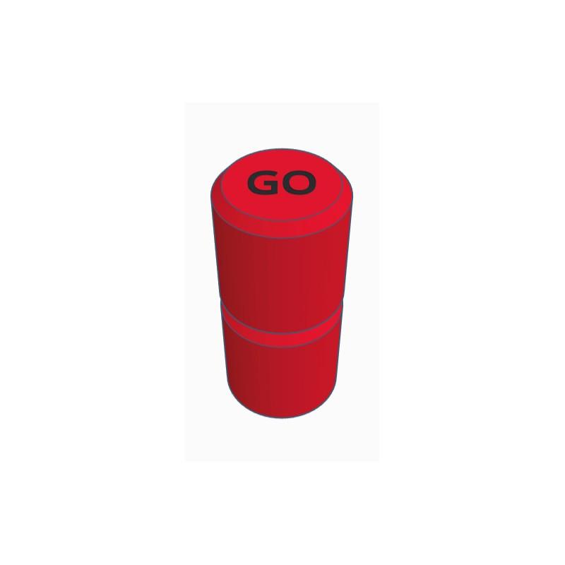 Pions Rouge pour jeux TACTIK - GO49 - Chemillé en Anjou