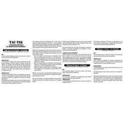 Règle du Jeux TAC-TIK